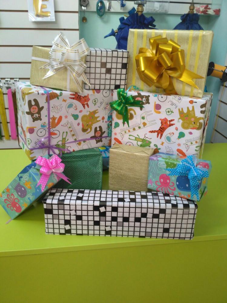 Упаковка для подарков в зеленограде 124